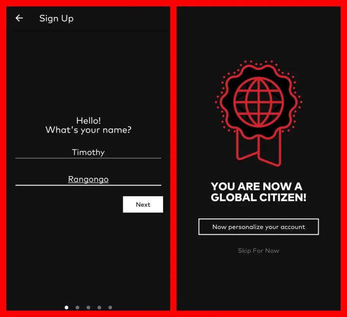 #GlobalCitizenFestivalSA