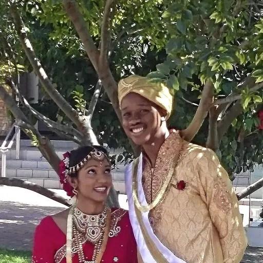 Keorapetse and Merishka Chakela
