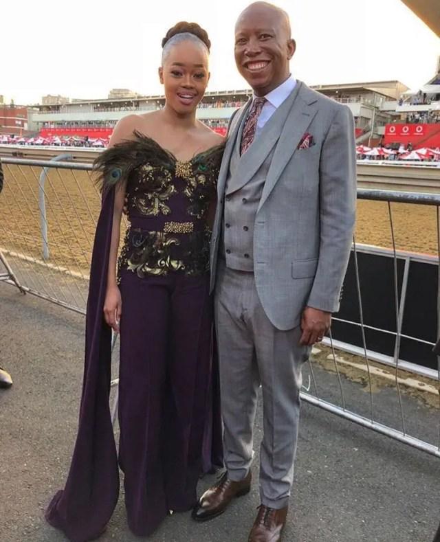 Julius Malema and wife