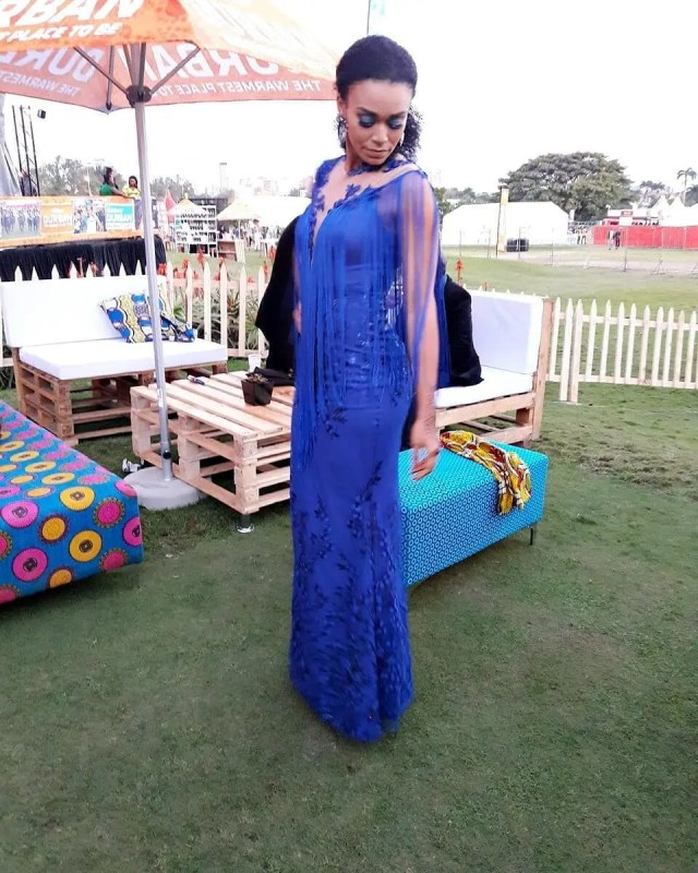 Pearl Thusi Durban July
