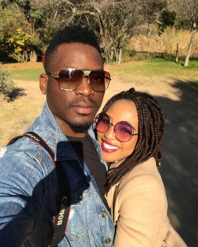 Phindile Gwala and bae