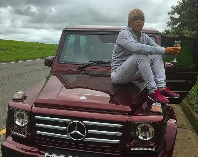 Somizi Mhlongo Car