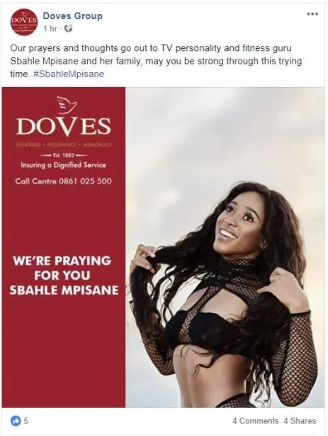 Doves Funeral