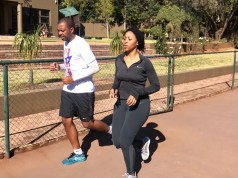 Fitness Bunny and Khune