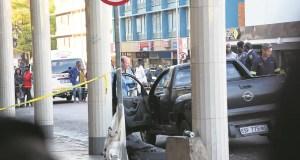 Cop Commits Suicide in Public