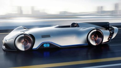 Photo of Mercedes EQ Silver Arrow Concept Gives Classic Racer Modern Twist