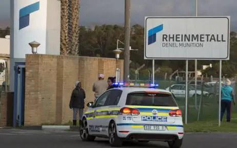 Denel Munition plant explosion