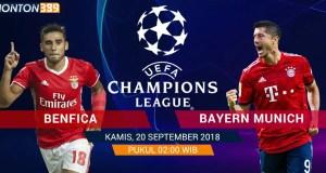Benfica vs Baryen Munich