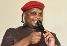 EFF deputy president Floyd Shivambu