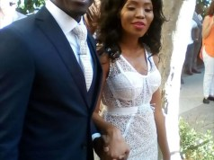 Gigaba and wife