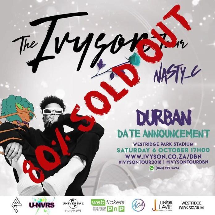 Ivyson Tour Nasty C