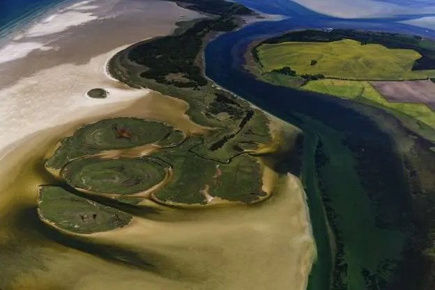 Kleiner Werder Islands