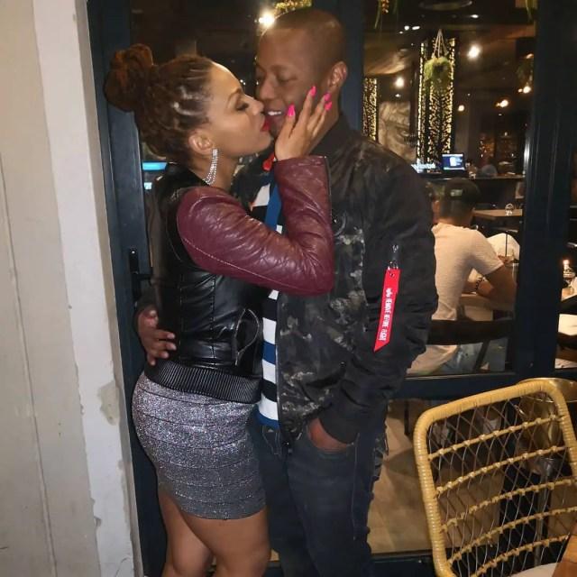 Letoya Makhene and bae