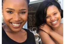 Natasha Thahane and Pretty