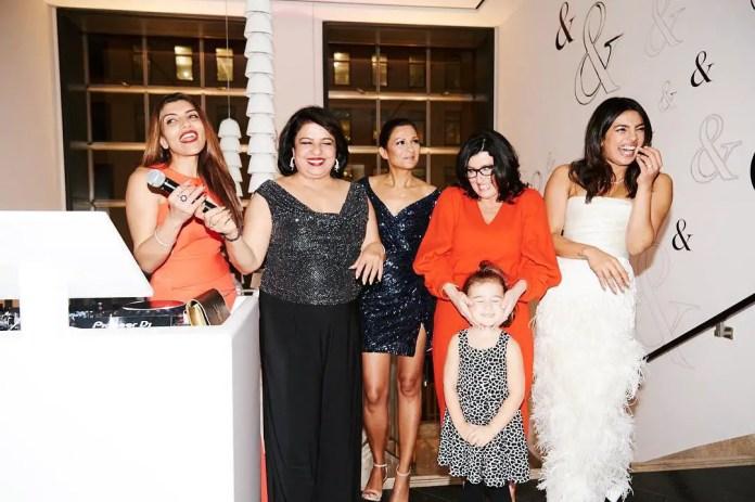 Priyanka Chopra's bridal party
