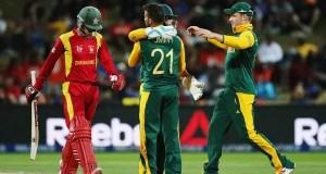 South Africa vs Zimbabwe
