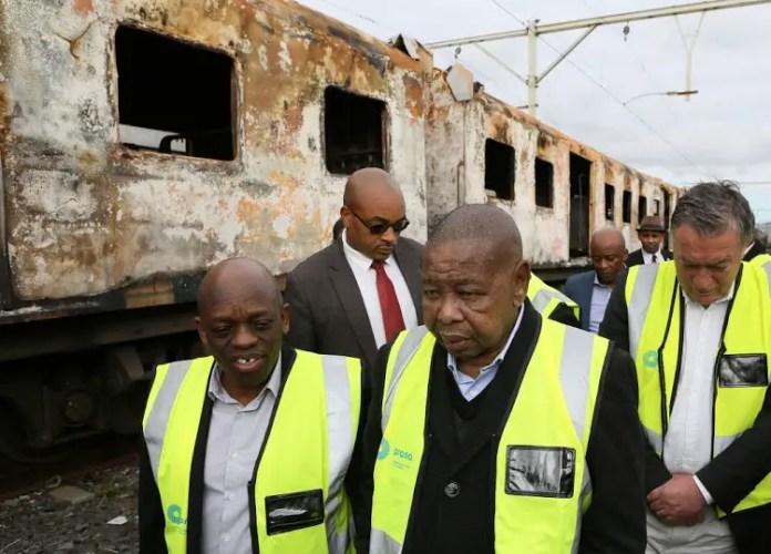 Transport Minister Blade Nzimande