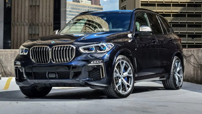 X5 front view