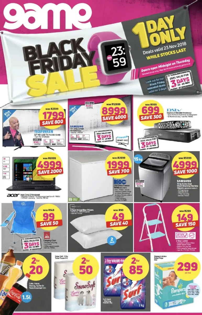 Game And Makro Black Friday Deals Not To Be Missed News365 Co Za