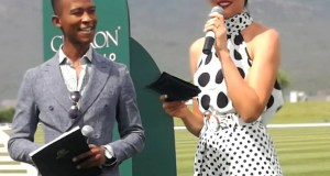 Katlego Maboe and Rolene Strauss