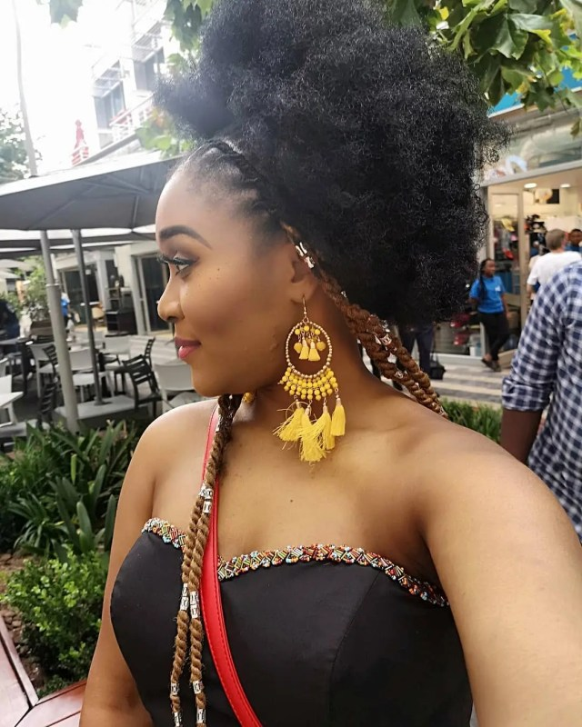 Lady Zamar Hangs Out With Mama Panther Pearl Thusi