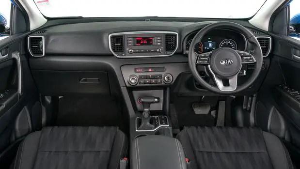 Rav4 SUV interior