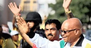 Roy Moodley and Jacob Zuma