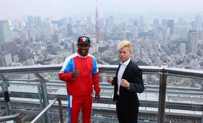 Tenshin Nasukawa and Mayweather