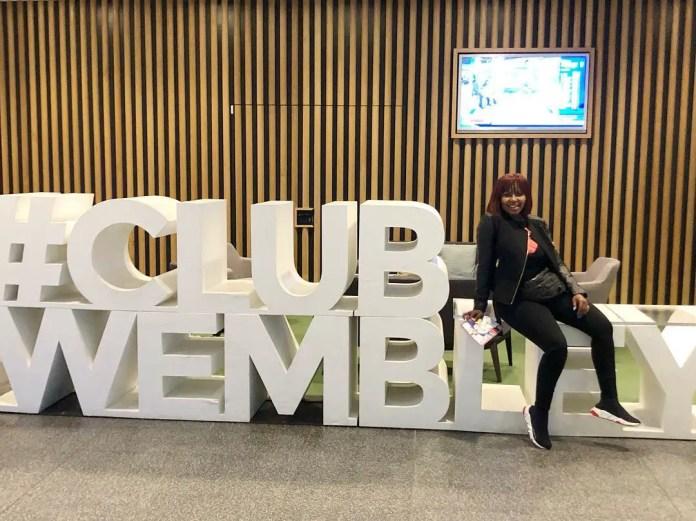 Carol Tshabalala Wembley