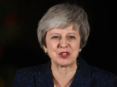 British Prime Minister Theresa