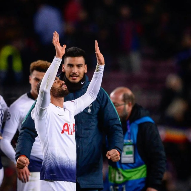 Lucas Moura Ade: Tottenham Through To Champions League Last 16
