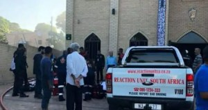 Mosque hit