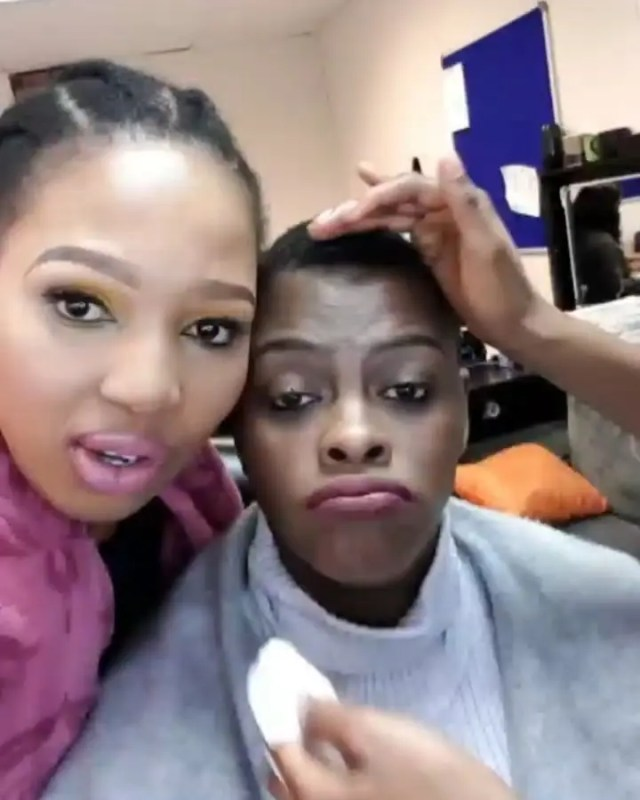 Phindile and Dawn Thandeka Uzalo