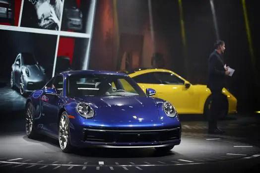 Porsche 911 exterior