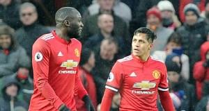 Sanchez and Lukaku