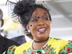 First Lady Auxillia Mnangagwa