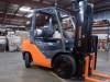 Forklift operator driver
