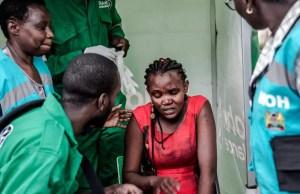 Grieving Kenyan families