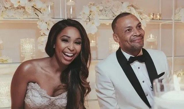 Minnie Dlamini and Quinton Jones