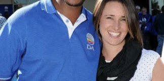Mmusi and Natalie Maimane