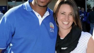 Mmusi and Natalie Maimane