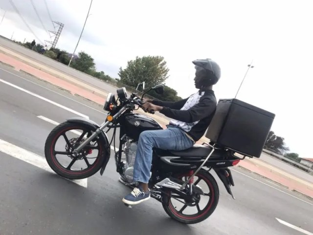 Motorbike Delivery Driver