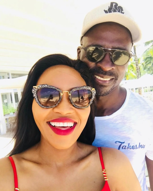 Norma and Malusi Gigaba