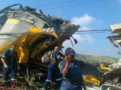 Pretoria train crash
