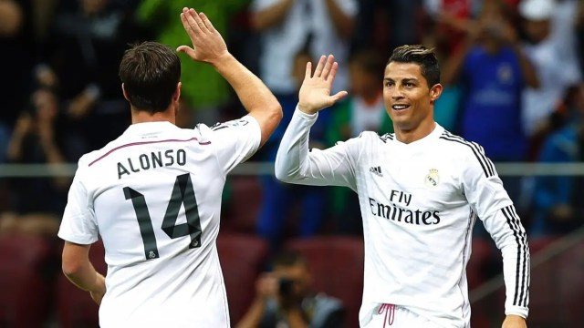 Ronaldo and Xabi