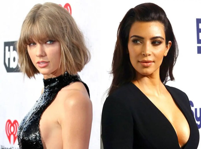 Taylor Swift and Kim Kardashian