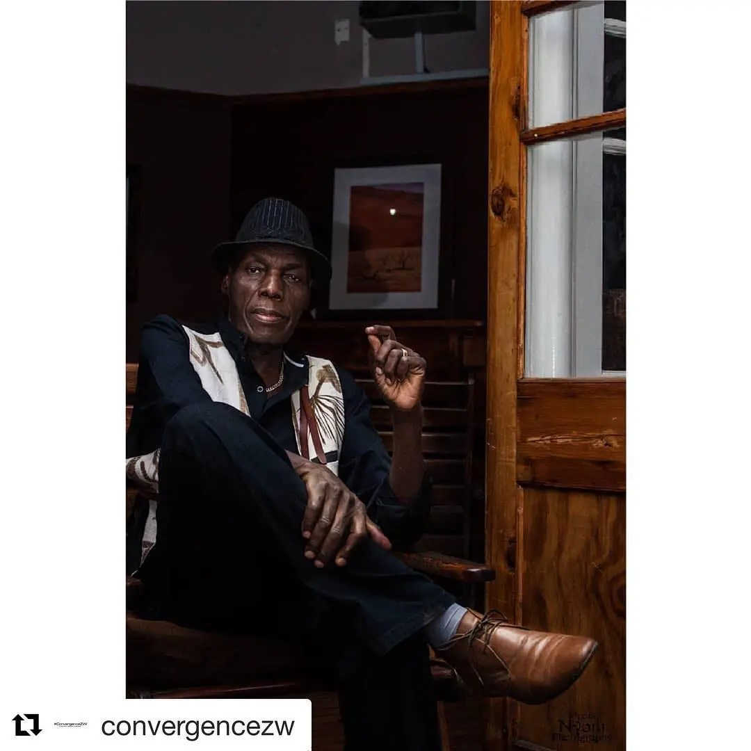 Latest pictures of Oliver Mtukudzi before he passed away