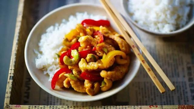 cashew nut stir-fry