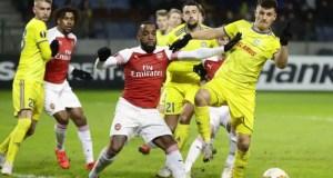 Arsenal vs Bate Borisov