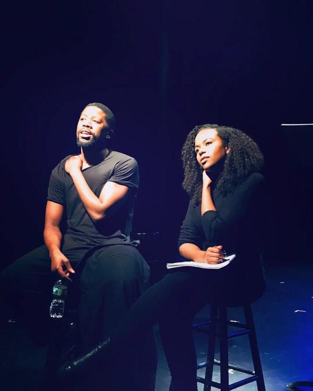 Atandwa Kani and Fikile Mthwalo